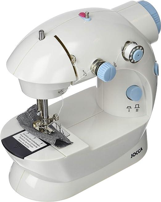 Jocca 6642 Máquina de coser portátil, blanca: Amazon.es: Hogar