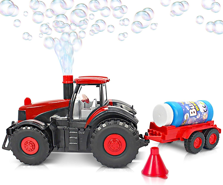 Amazon.com: ArtCreativity - Tractor de granja con luces y ...