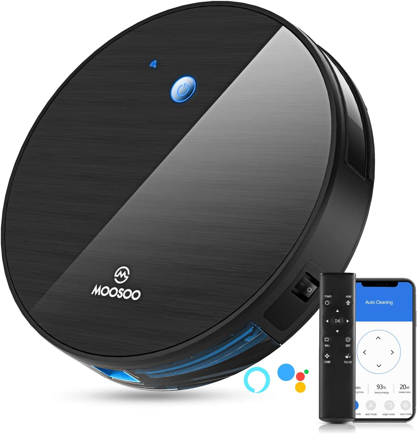MOOSOO M Robot Aspirador MT-501: Amazon.es: Hogar