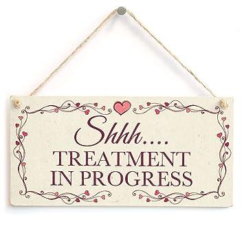 Amazon.com: Shhh.... Treatment in Progress – Hermoso cartel ...