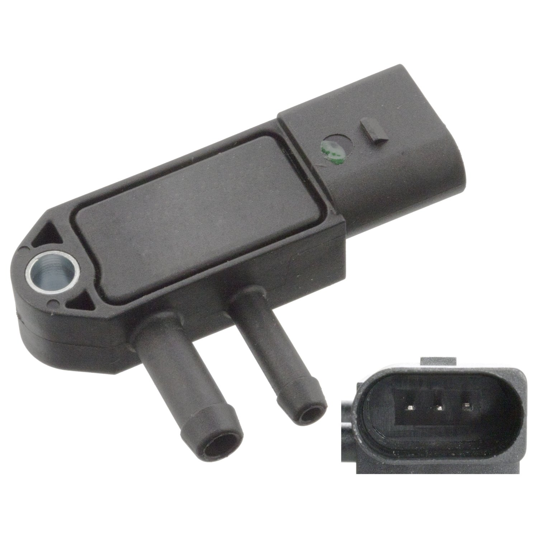 febi bilstein 40766 exhaust pressure sensor - Pack of 1 Febi Pan EU