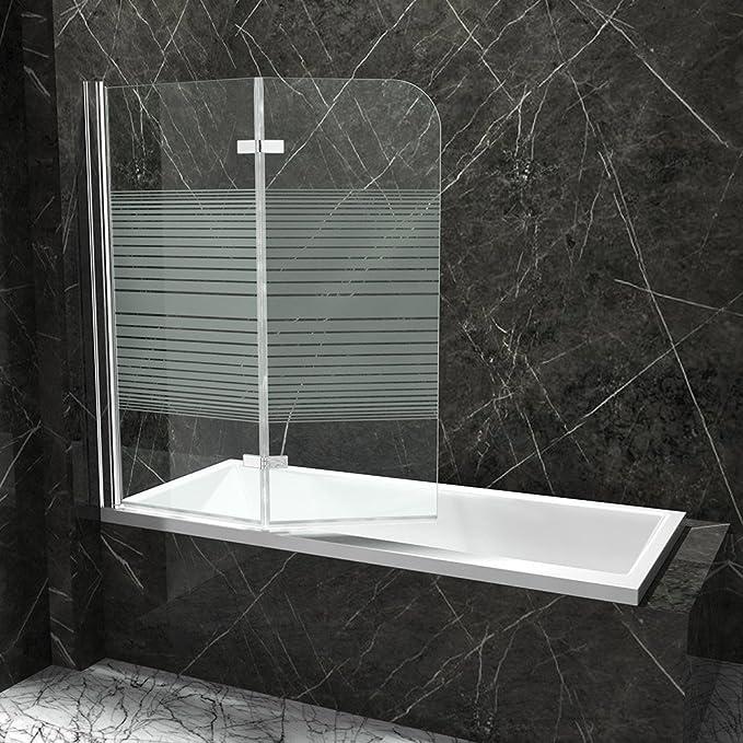 Bañera plegable pared nassau04 – (Cristal Transparente Y con leche ...