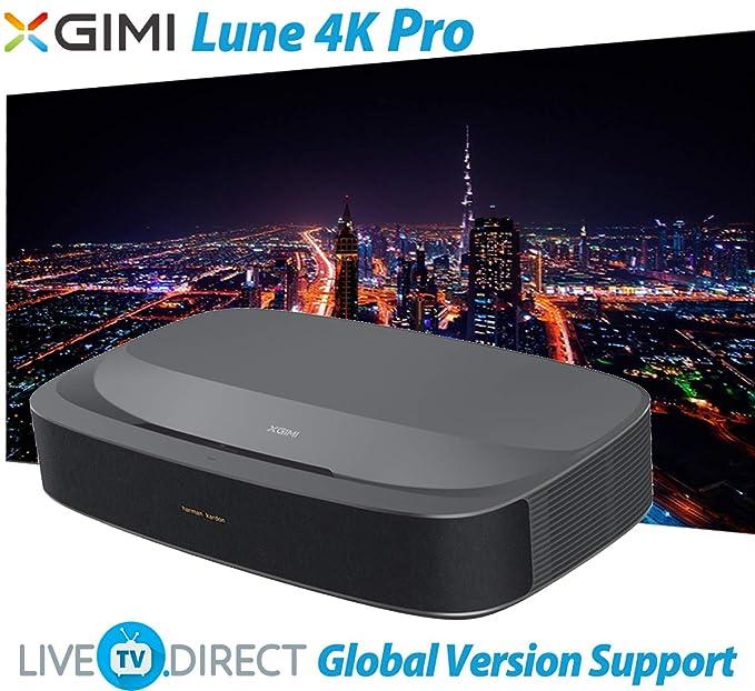 4K Projector, LiveTV.Direct Enhanced for XGIMI Lune4K Super Short ...