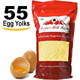 Egg Yolk Powder (500 Grams = 55 Egg Yolks) Free Flowing Perfect for Baking, Mayonnaise, Sauces, Noodles, Ice Cream by Hoosier Hill Farm