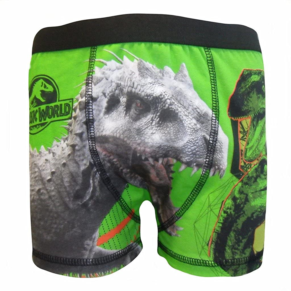 Jurassic World Dinosaur Boys 1 Pack Boxer Shorts 9-10 Years