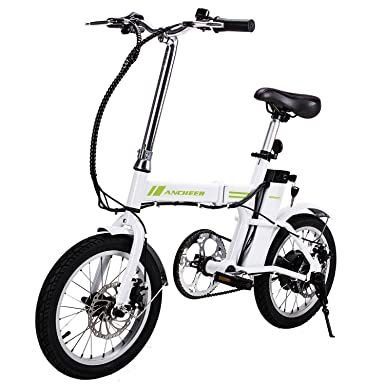 Electric Bike 16 Inch Outdoor E Bike Folding Electric Bicycle With