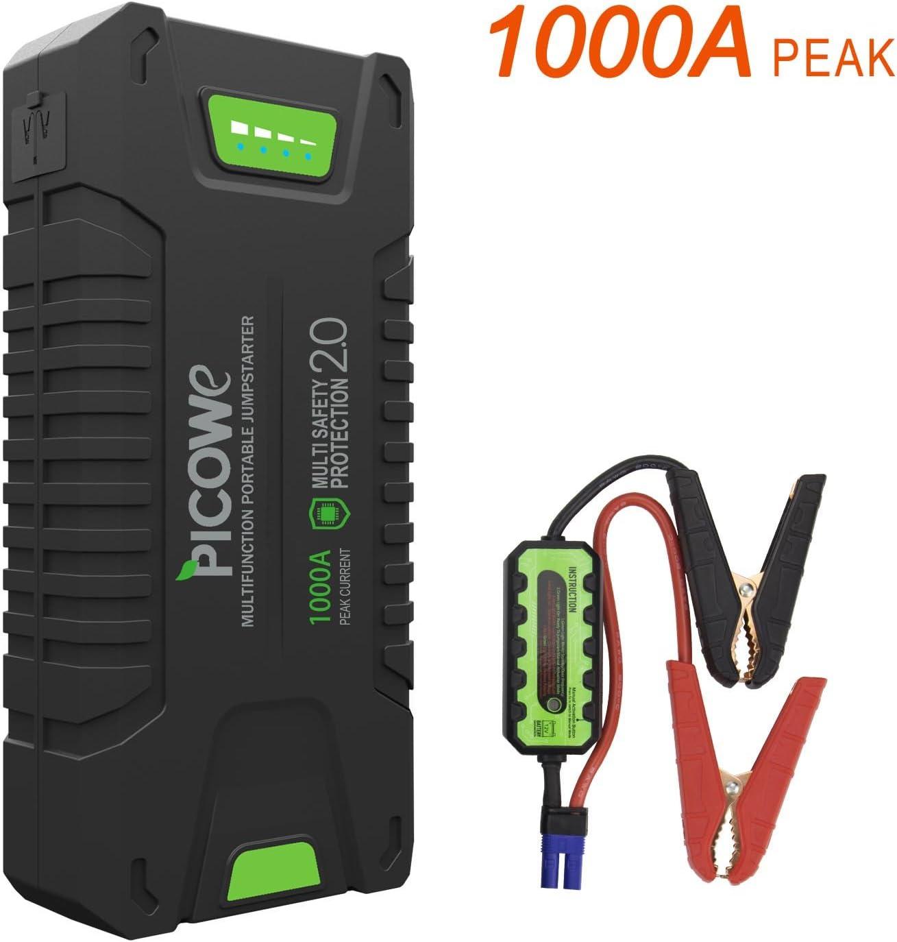 Tragbare Autobatterie-Starthilfe Batterie-Elektro-Schatzauto-Notstarter Rot ZXWNB Batterie-Starthilfe 12V 20000Mah
