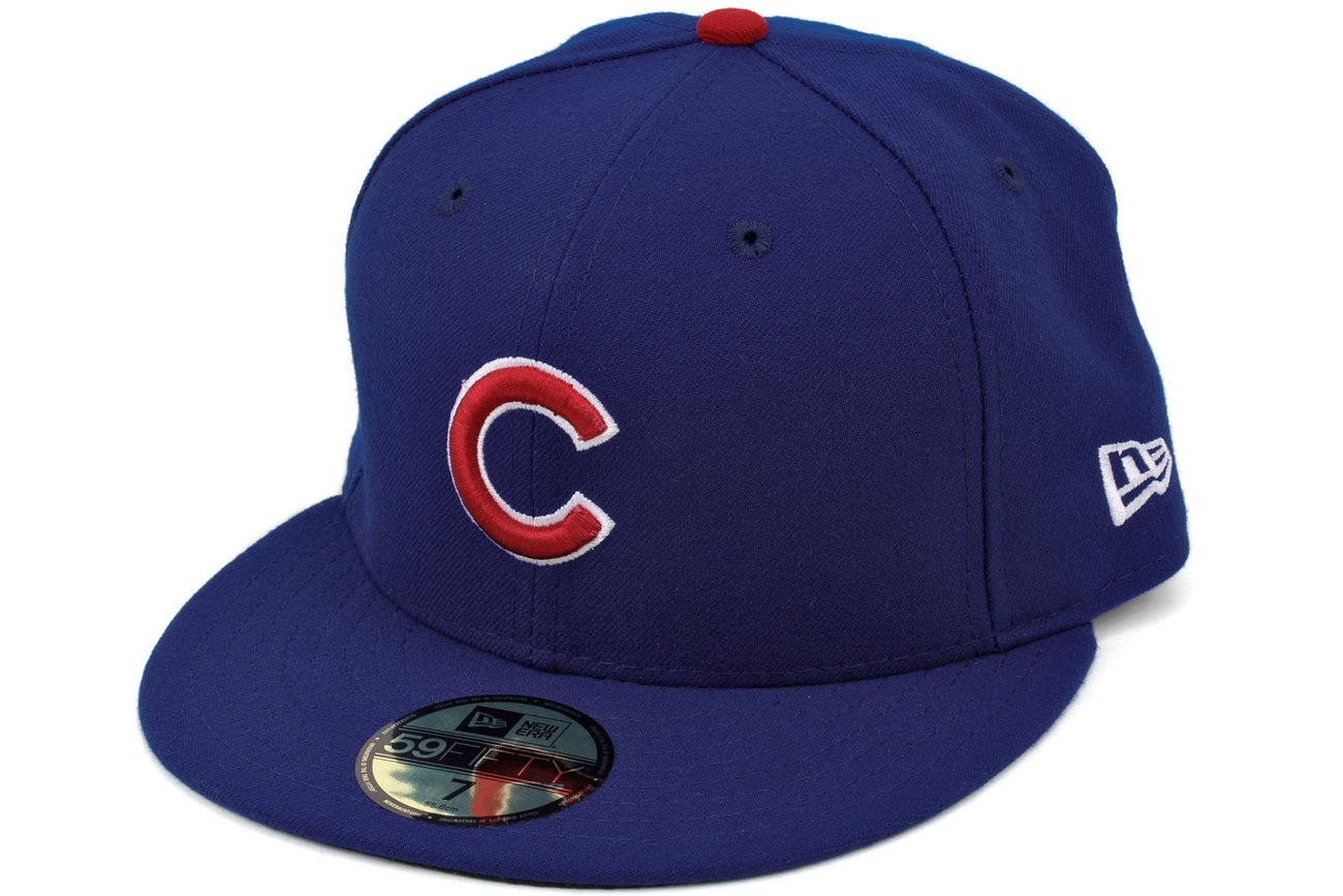 Amazon.com   Chicago Cubs New Era 2016 National League Champions World  Series Patch 59FIFTY Fitted Hat - Royal (7 1 8)   Sports   Outdoors bda75746dde