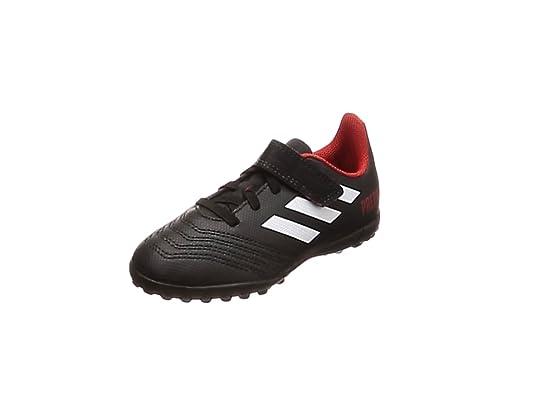 big sale 51efa 0292f Adidas Predator Tango 18.4 TF J H L, Botas de fútbol Unisex niño, Negro (