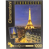 Clementoni - Puzzle de 1000 Piezas, Fluorescent Collection