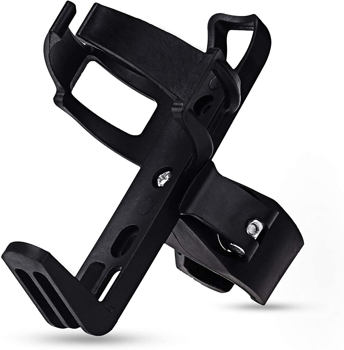 Details about  /Adjustable Plastic Bike Bicycle Cycling Water Bottle Rack Cup Cage Holder+Scr lI
