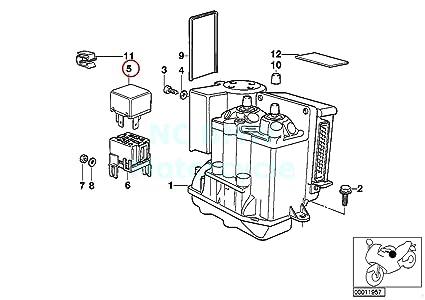 Amazon.com: ABS motor relay: Automotive on