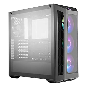 Cooler Master MasterBox MB530P Carcasa de Ordenador Midi-Tower Negro - Caja de Ordenador (