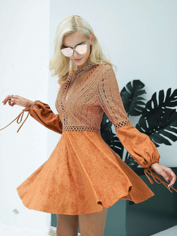 Kleid elegant langarm