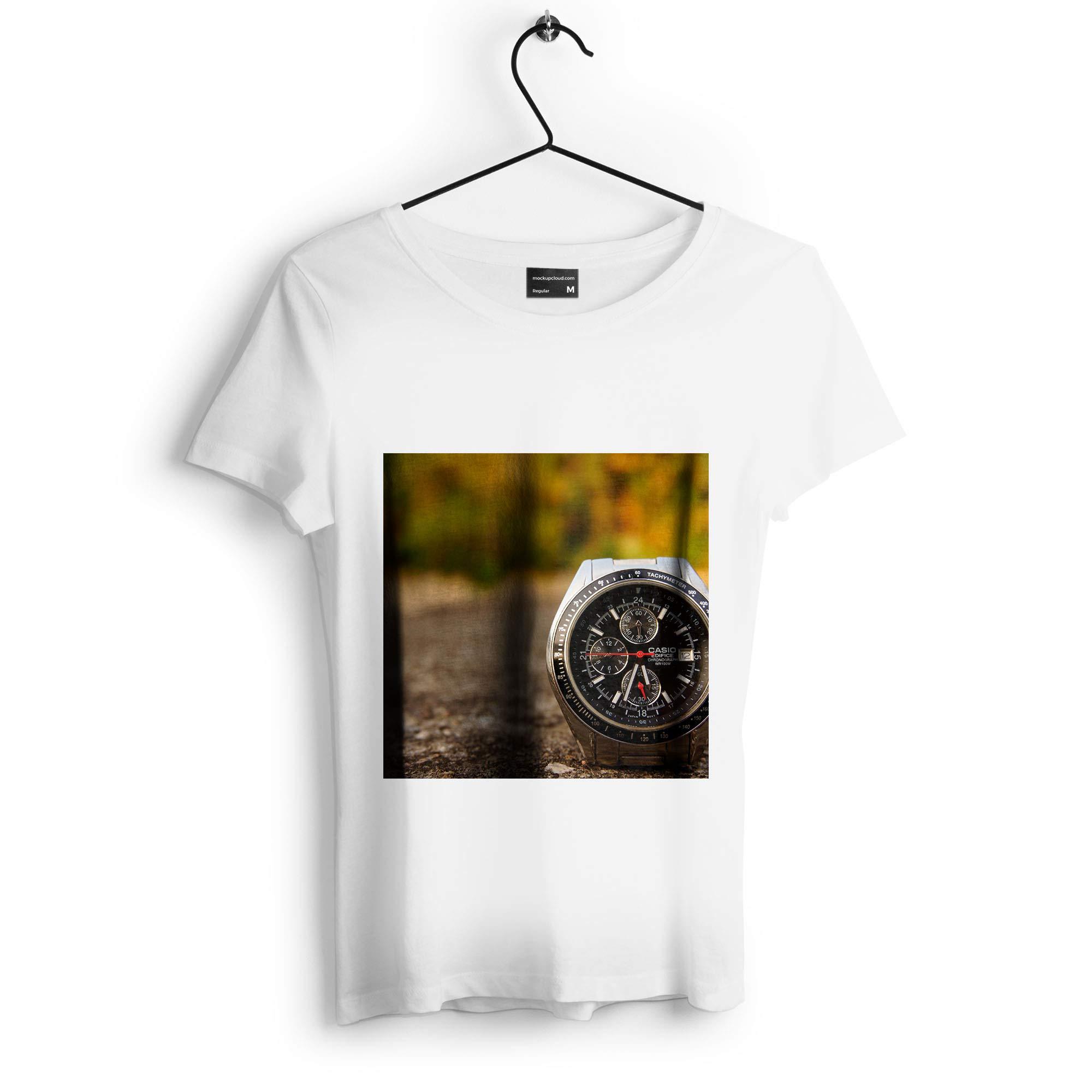 Westlake Art - Watch Casio - Unisex Tshirt - Picture Photography Artwork Shirt - White Adult Medium (D41D8) by Westlake Art