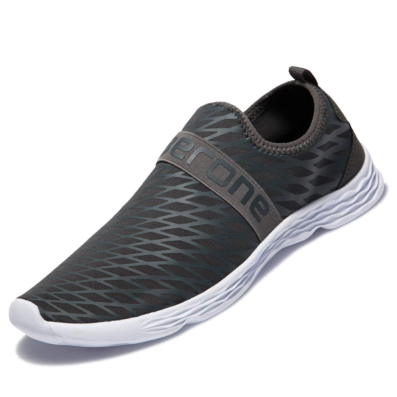 MAYI Chaussures de Plage pour Homme S/échage Rapide Aquaschuhe Summer Chaussures de Plage antid/érapantes