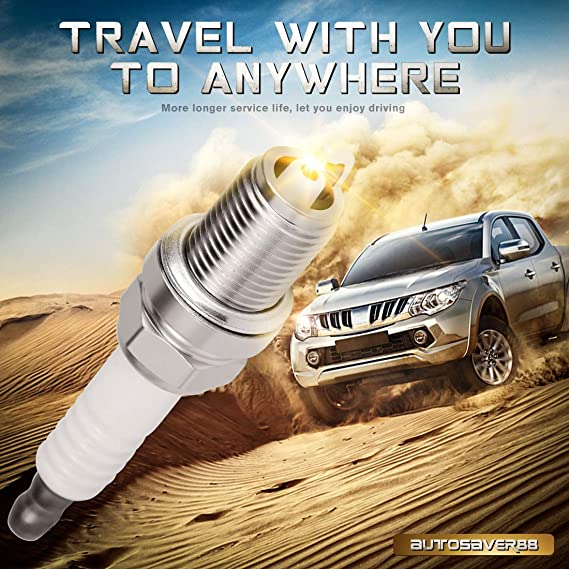 Pack of 4 Iridium Spark Plugs for Acura RL Chrysler Hyundai