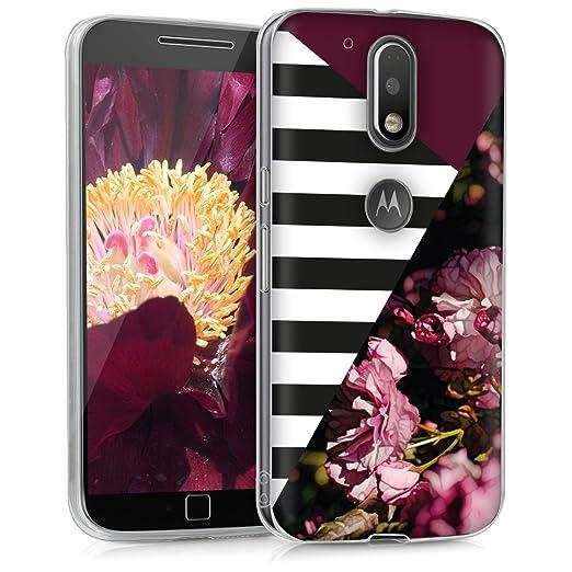 12 opinioni per kwmobile Cover per Motorola Moto G4 / Moto G4 Plus- Custodia in silicone TPU-