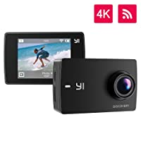 YI Lite Cámara Deportiva 4K Cámara de Acción Sony Sensor WiFi Bluetooth Lente Ultra Gran Angular
