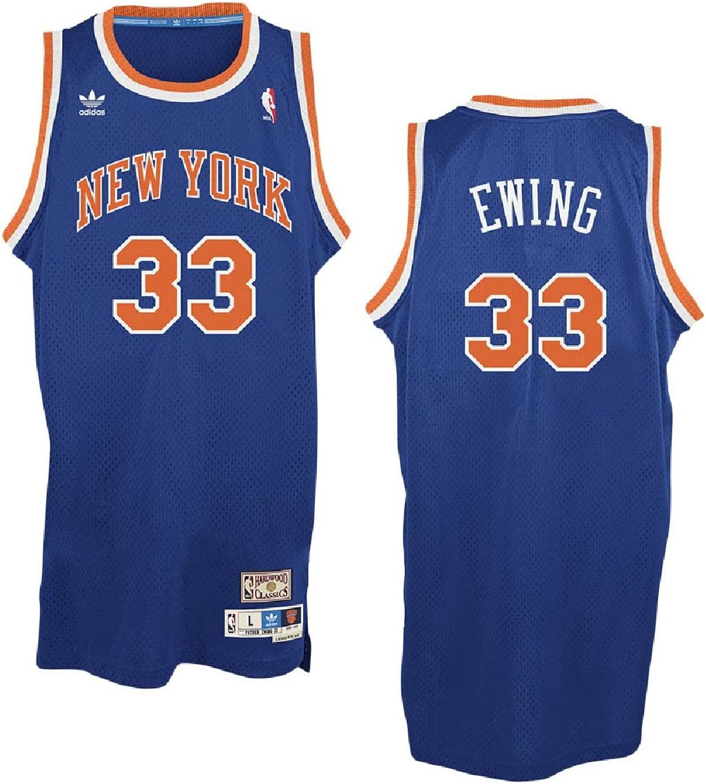 adidas Patrick Ewing New York Knicks NBA Throwback Swingman
