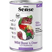 Dibaq Sense Grain Free Salvaje (Ciervo y Jabalí). Comida húmeda para perros. 100% natural. Hipoalergénico.