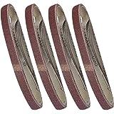 Silverline Lot de 20 bandes abrasives pour ponceuses électriques Black and Decker 13 x 457 mm