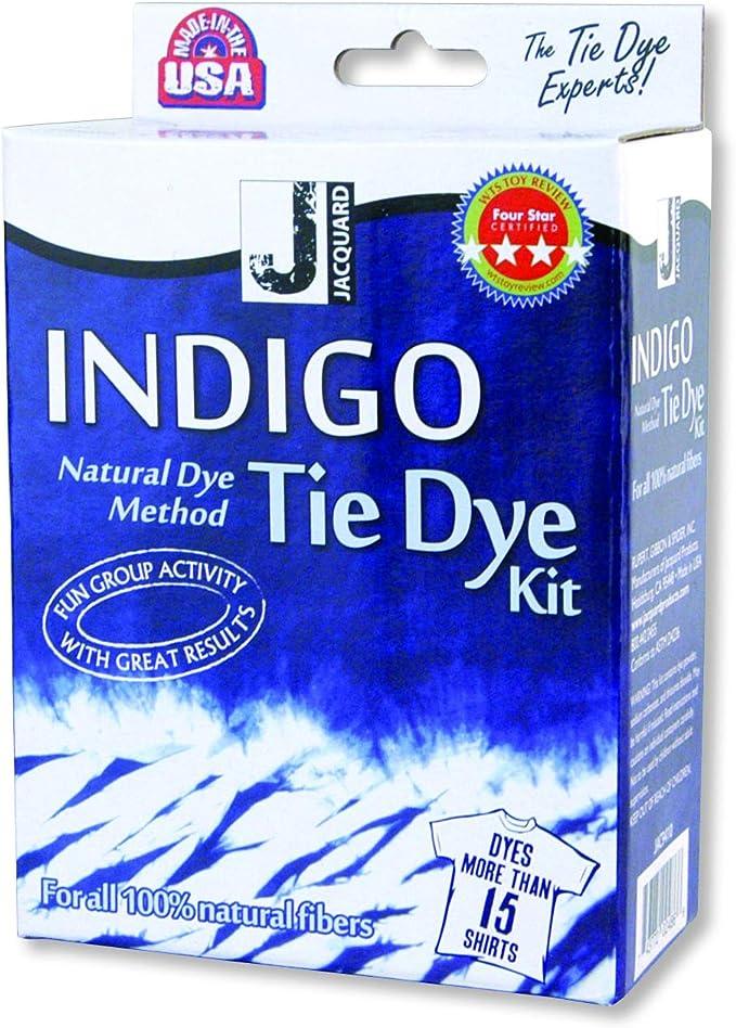 Jacquard Indigo Tie Dye Kit (Mini): Amazon.es: Juguetes y juegos