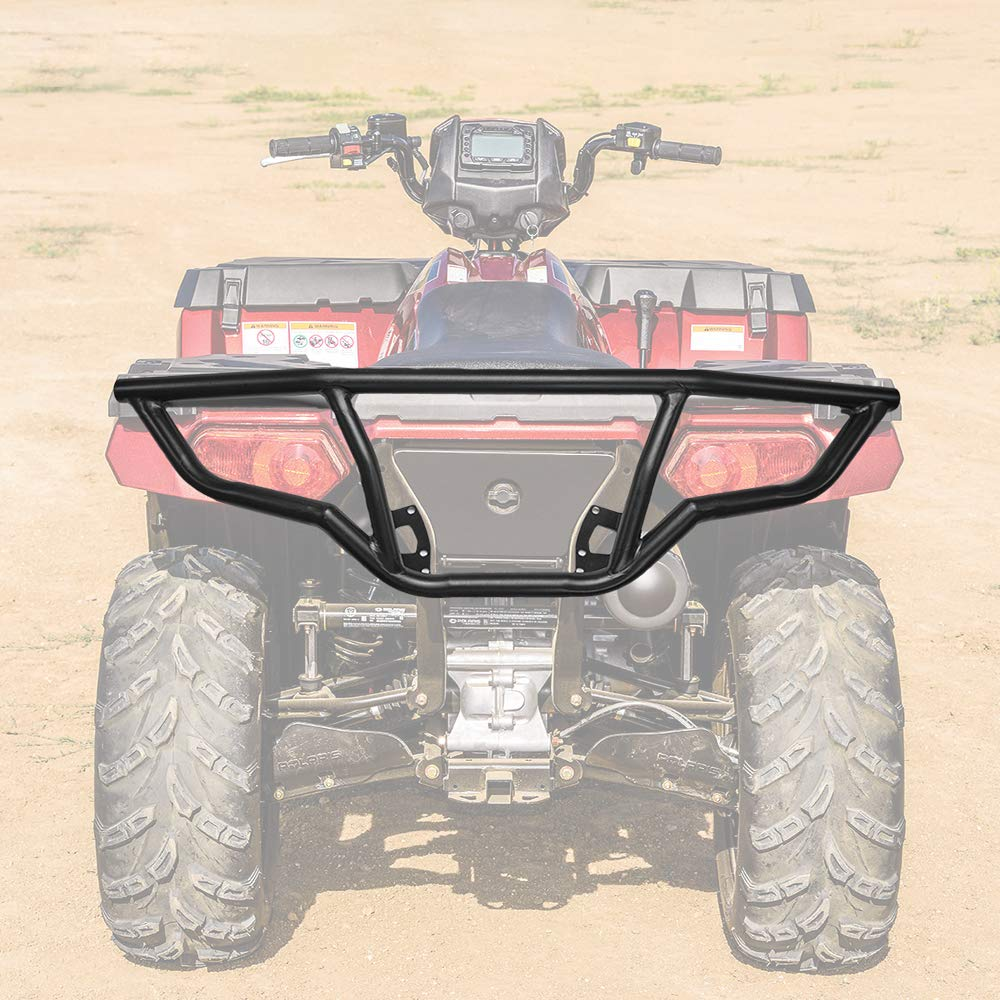 kemimoto ATV Rear Bumper Compatible with Polaris Sportsman 450 570 ETX 2014-2019 XP Replace part #2879715