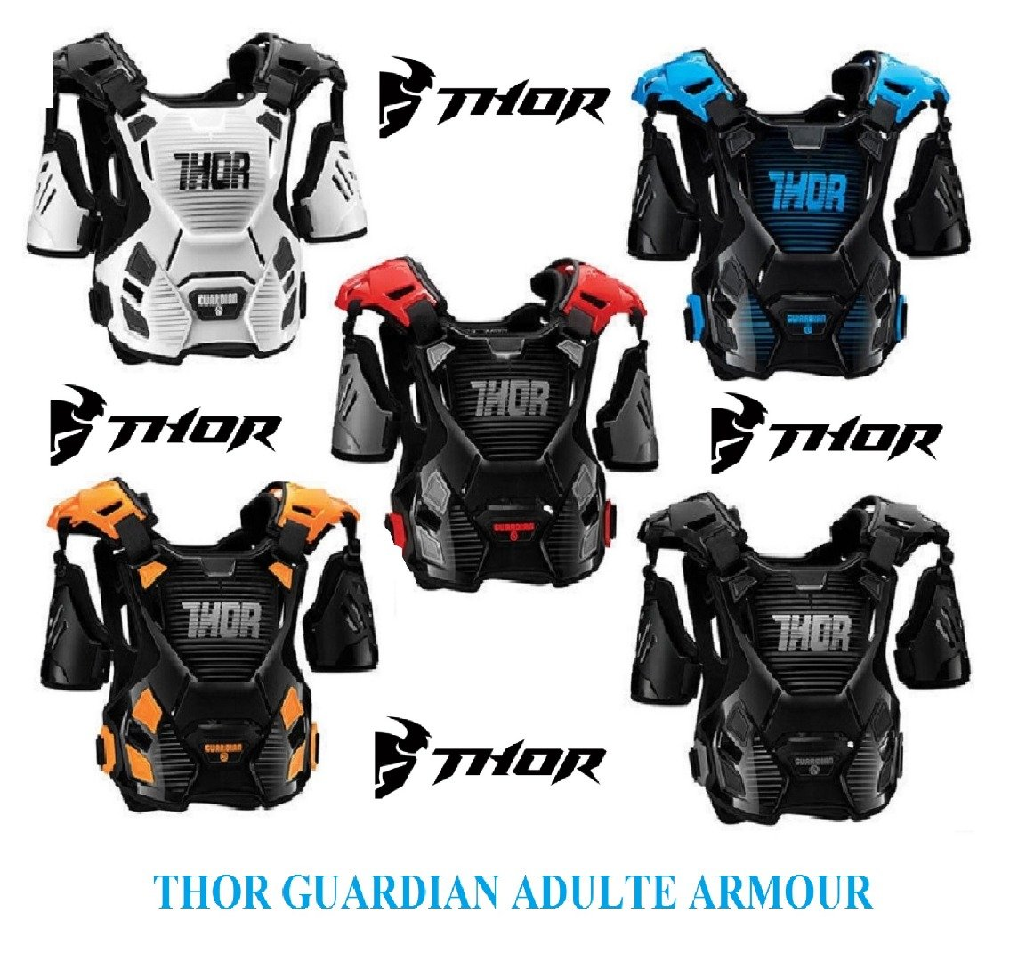 Moto chaqueta de protección Thor Guardian adulto MX ...