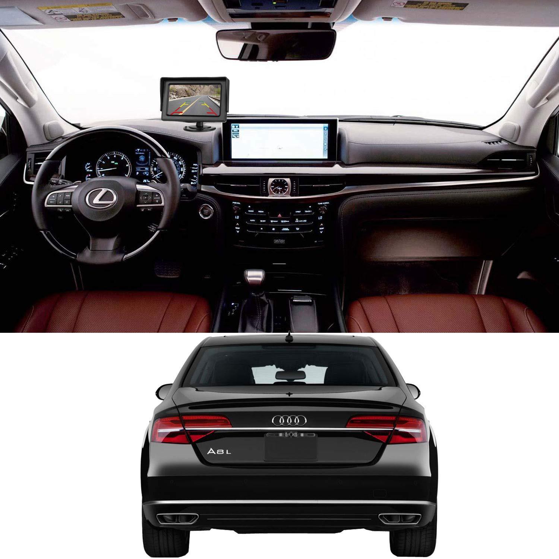 Leekooluu Backup Camera And Monitor Kit For Car Vehicle Amazonco Pyle Plcm7700 Wiring Diagram Electronics