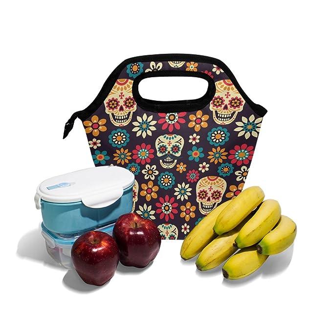 Amazon.com: saobao aislante bolsa de almuerzo día de los ...