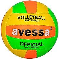 Avessa PVCY54 Avessa Fosforlu Voleybol Topu Unisex, çok renkli, Tek Beden