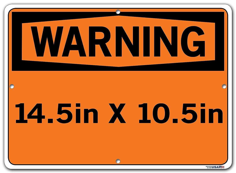Vestil SI-W-53-B-LB-011-S HYDROLIC OIL//ACEITE HYDR/ÁULICO Warning Label 12.5 W x 9.5 H 0.011 Overall Size Vinyl