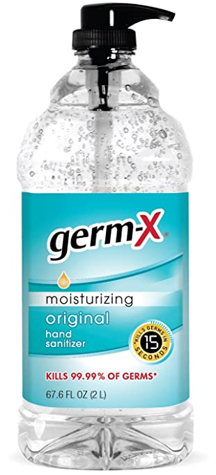 Amazon Com Germ X 1000043753 Original Hand Sanitizer 67 6 Oz