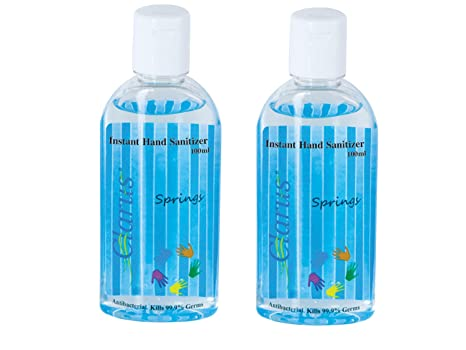 Buy Clarus Hand Sanitizer 100 Ml Springs Pack Of 2 Online At Low