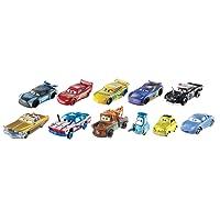 Disney Fgr92Cars 3moulé sous Pression véhicule, Lot DE 10