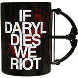 Walking Dead If Daryl Dies We Riot Crossbow Mug
