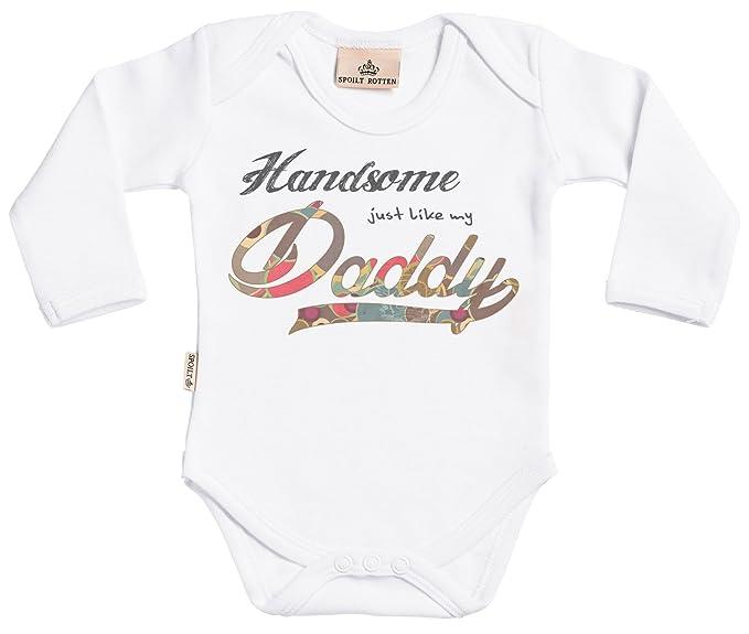 Amazon.com: Handsome Like Daddy Baby Boy bebé crecer – Body ...