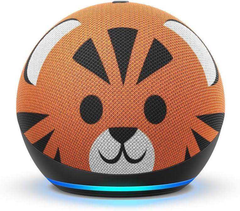 All-new Echo Dot Kids Edition (4th Gen) - Tiger