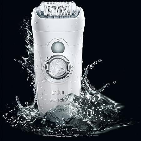 Braun Silk-épil 7 7681 - Depiladora utilizable bajo el agua, recargable, incluye 5 accesorios: Amazon.es: Salud y cuidado personal