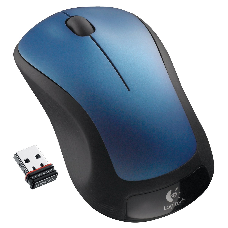 Logitech Wireless Mouse M310 (Peacock Blue) by Logitech