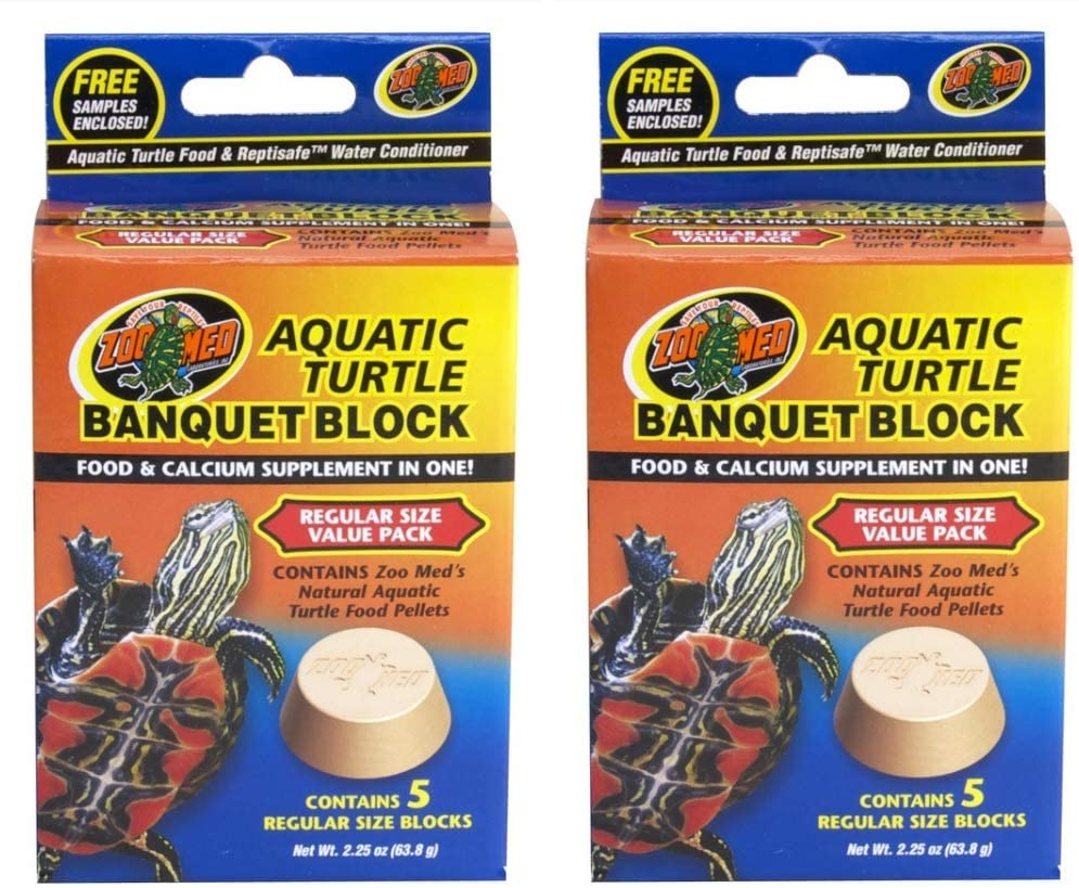 Zoo Med Block Value Pack for Aquatic Turtle [Set of 2]