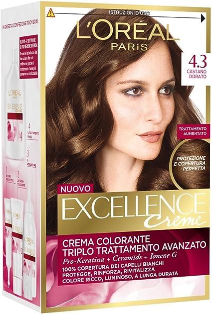EXCELLENCE Crema Tinte 4.3 Castaño Dorado 40 ml