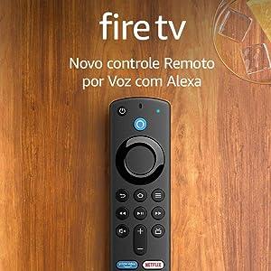 Novo Controle Remoto por Voz com Alexa (inclui comandos de TV)