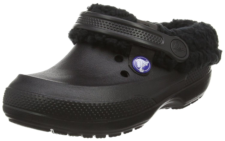 Crocs Classic Blitzen II Clog (Toddler/Little Kid), Black/Black, 8/9 M US Toddler Classic Blitzen II Clog - K
