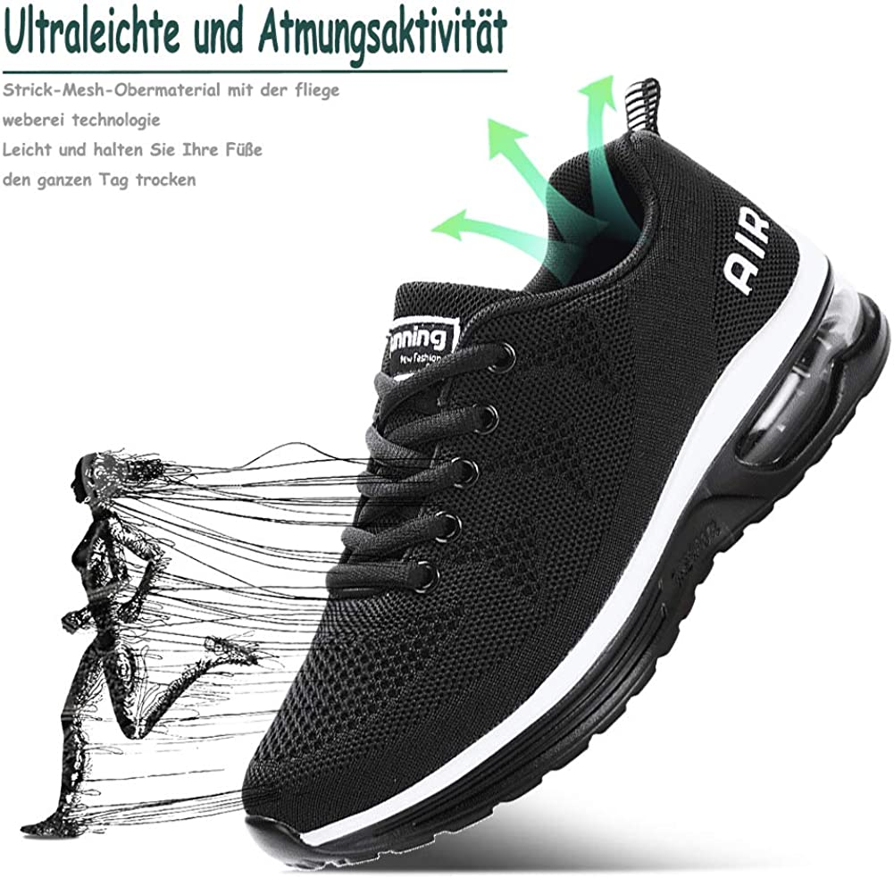 Dihope Femme Baskets Chaussures Outdoor Running Gym Fitness Sport Sneakers Style Running Sneakers Shoes Respirante