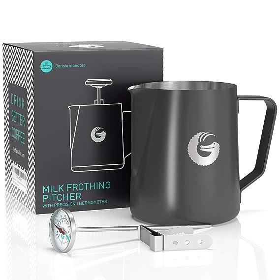 Amazon.com: Jarra para barista de leche de café, vaporizador ...