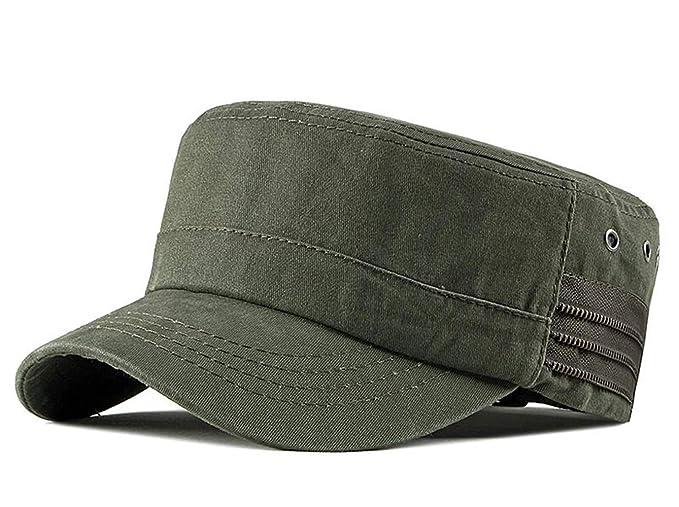 verschiedene Farben Turnschuhe vollständige Palette von Spezifikationen CHENNUO Herren Armee Militär Cap Schirmmütze Verstellbar Baseball Kappe  Wandern Mütze