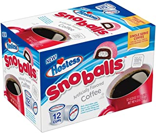 product image for Hostess Brand Single Serve Coffee Pods (Sno Ball)