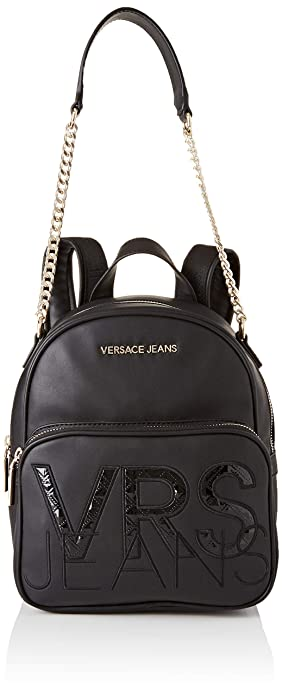 fc64cdfb4787 Amazon.com: Versace EE1VTBBS4 E899 Black Backpack for Womens: Shoes